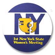 NY Women's  Button